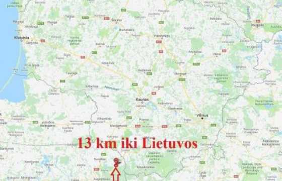 AKM zemelapis Lenkija